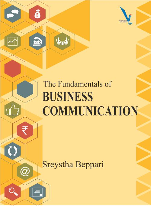 Business Communication Book Cover ~ The fundamentals of business communication vishwakarma
