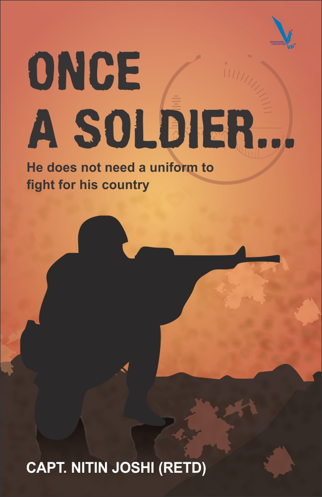 Once A Soldier...- He Does Not Need A Uniform to Fight for his Country